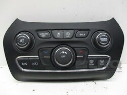 15 16 17 Jeep Cherokee Heater AC Temperature Climate Controls 68249518AB OEM