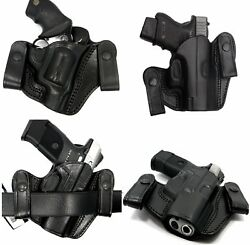 TAGUA IWB INSIDE PANTS CONCEALMENT DUAL SNAP HOLSTER - Choose Your Color