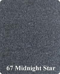 24 Oz Cut Pile Marine Outdoor Bass Boat Carpet - 8.5and039 X 10and039 - Metallic Gray