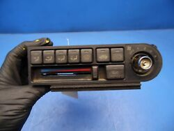 90-91 Honda Prelude OEM AC heating climate control temperature switch *flaw