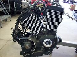 07 Victory Kingpin Motor Engine Assembly Block 100 Ci 100ci 6 Speed