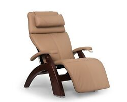Human Touch Sand Leather Pc-420 Classic Plus Chestnut Zero Gravity Perfect Chair
