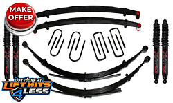 Skyjacker 6 Lift Kit W/black Max Shocks For 74 Ramcharger/plymouth Trailduster