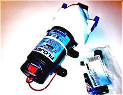Flojet Fully Automatic 12vdc Water Pump And On/off Switch On Board Option And Kit