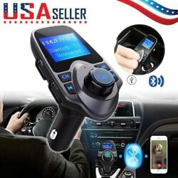 Bluetooth Fm Transmitter Radio Adapter Usb Charger Handsfree Car Kit For Iphone7