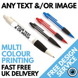 Custom Printed Pens Andbull Bespoke Personalised Business Pen Logo Andbull Band Photo Image