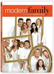 Modern Family: The Complete Eighth Season New DVD 3 Pack Ac 3 Dolby