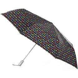 Isotoner totes X-Large Auto Open Close SunGuard NeverWet Umbrella - 8709