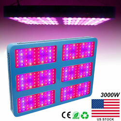 2Pcs 3000W LED Grow Light Lamp Full Spectrum For all indoor plants Greenhouse US