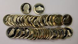 1988-s Jefferson Nickel Proof Roll Of 40 Coins