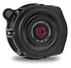 Performance Machine Pm Black Ops Vintage Air Cleaner Harley Touring 08-16 Tbw