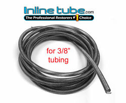 3/8 Hydraulic Hose 20and039 Spring Wrap Armor Guard Tubing Protector Stainless Sg-084