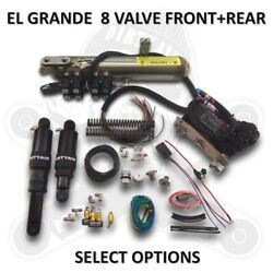 Dirtyworks Dirty Air El Grande 8 Valve Front And Rear Complete Fast-up Tank Ki