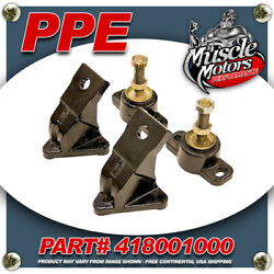 Ppe 418001000 Marine/stationary Engine Mount Kit For 2001-2010 Gm 6.6l Duramax