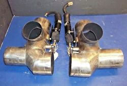 Exhaust Divert Engine Exhaust Pipe 3 And 4 Pipe Silenceroff Marine Boat Cobra