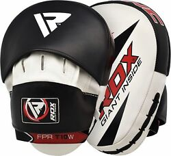 Rdx Curved Focus Mitts Pads Kick Boxing Punching Hook And Jab Muay Thai Mma Us