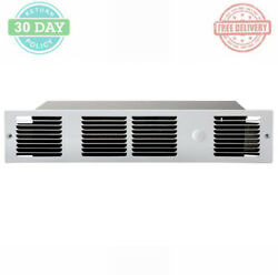 Under-Cabinet Electric Heater Fan-Forced Squirrel-cage Quiet Blower Warmer