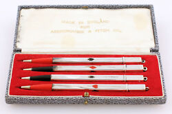 Abercrombie And Fitch Sterling Silver Bridge Pen Set