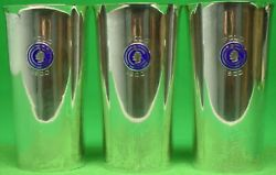 Set Of 3 Sterling Silver 1930 Polo Beakers