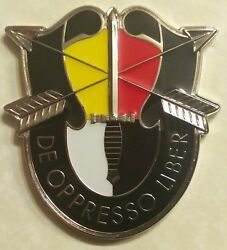 3rd Special Forces Airborne 2nd Bn Bush Hogs Commander Army Challenge Coin