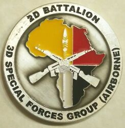 3rd Special Forces Airborne 2nd Bn Bad Things Army Challenge Coin