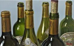 """Thomas Arvid """"golden Opportunity Wine Art - Signed And Numbered Canvas 42 X 26"""