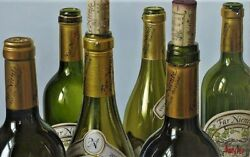 Thomas Arvid Andldquogolden Opportunity Wine Art - Signed And Numbered Canvas 42 X 26