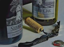 """Thomas Arvid """"silver Lining"""" Wine Art 77/195 Signed And Numbered Canvas 36 X 27"""
