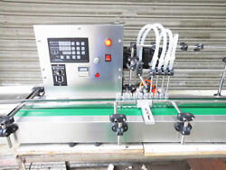 New Four Heads Liquid Filling Machine Full Automatic Filling 1--250ml