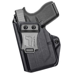 New Tulster Profile Iwb/aiwb Holster Glock 42 W/streamlight Tlr-6 - Left Hand