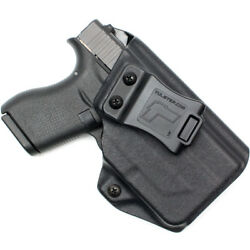 New Tulster Profile Iwb/aiwb Holster Glock 42 W/streamlight Tlr-6 - Right Hand