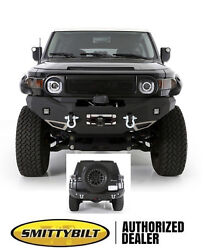 Smittybilt M-1 Front And Rear D-ring Bumper W/ Lights 07-15 For Toyota Fj Cruiser