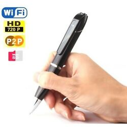 720P Wireless WiFi Spy Hidden Camera Pen Video Camera for Android and IOS Phone
