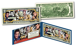 Elvis Presley Historic Moments Life And Times Genuine U.s. 2 Bill - Licensed