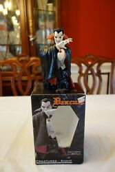 Johnstoys Creatures Of The Night Repaint Marvel Dracula Bust Statue L/e 345/600