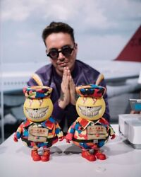 J Balvin X Ron English X Mindstyle Mc Energia Grin Signed By Both Artists
