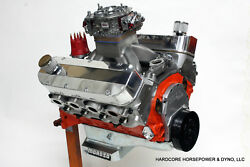 582ci Big Block Chevy Pro-street Engine 800hp+ Carband039d Built-to-order Dyno Tuned