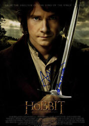 The Hobbit An Unexpected Journey Autographed Poster Uacc Rd Aftal