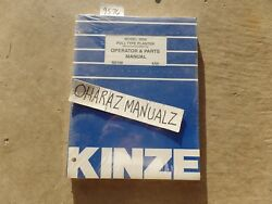 6/2005 Kinze 3000 Pull Type Mechanical Planter Operator And Parts Manual M0188