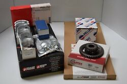 Fits Nissan Datsun H15 Lift Truck Engine Kit Gas Forklift Pistons Rings Gaskets
