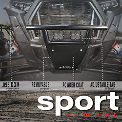 New Sport Style Polaris Rzr Front Bumper For Rzr 1000 Or Turbo Model Year 2014+