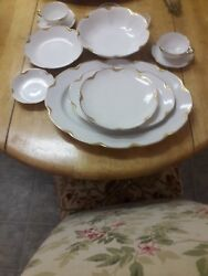 25th Anniversary Haviland China In Prestine Condition. 5 Boxes