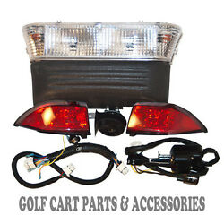 12 Club Car Precedent Golf Cart Deluxe Head Light And Tail Light Kits Elec. And03908-up