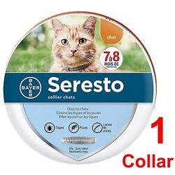 Seresto Cat Flea And Tick Collar For Cat 10 Weeks Or Over