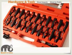Automotive Electrical 23pc Wire Terminal Connector Tool Release BMW Opel VW/Audi
