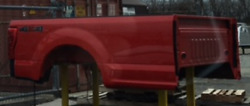 New Red 2017 Ford F-350 8and039 Aluminum Pickup Bed