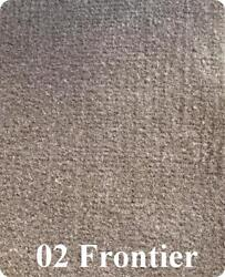 18 Oz Cut Pile Marine Outdoor Bass Boat Carpet - 6and039 X 25and039 - Frontier / Brown
