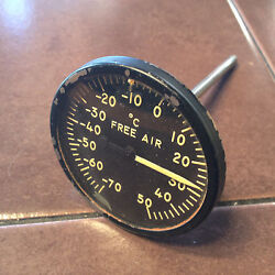 Free Air Gauge, Ohio Thermometer Co. A261b In Celsius