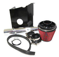 Fit 05-11 Toyota Tacoma 4.0l V6 Red Cold Air Intake Kit+heat Shield