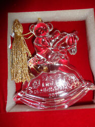 Waterford Marquis 2013 Baby's 1st Christmas Ornament 160500 - New In Box